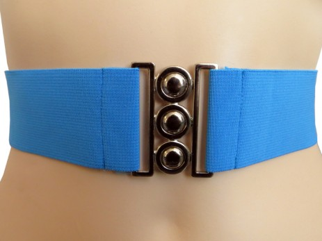 2 Inch Elastic Belt - Blue