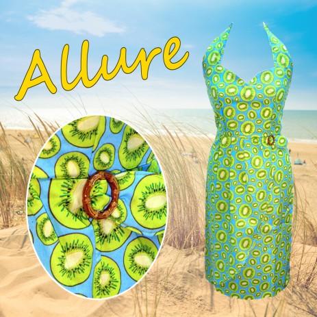Allure Dress - Kiwi
