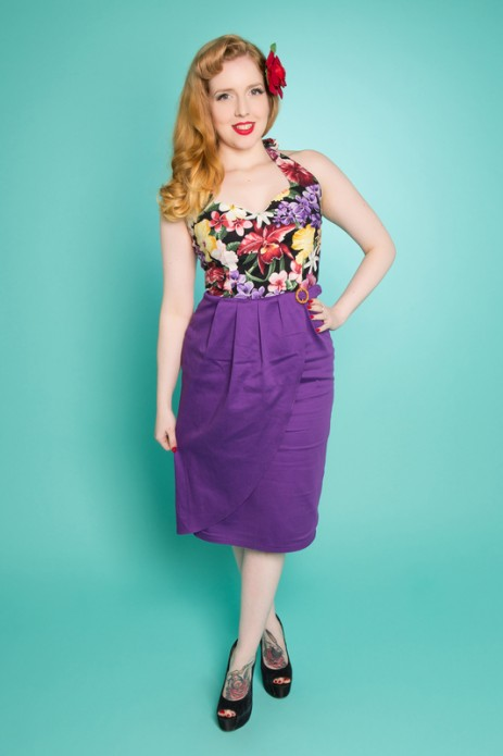 Allure Dress - Tropical