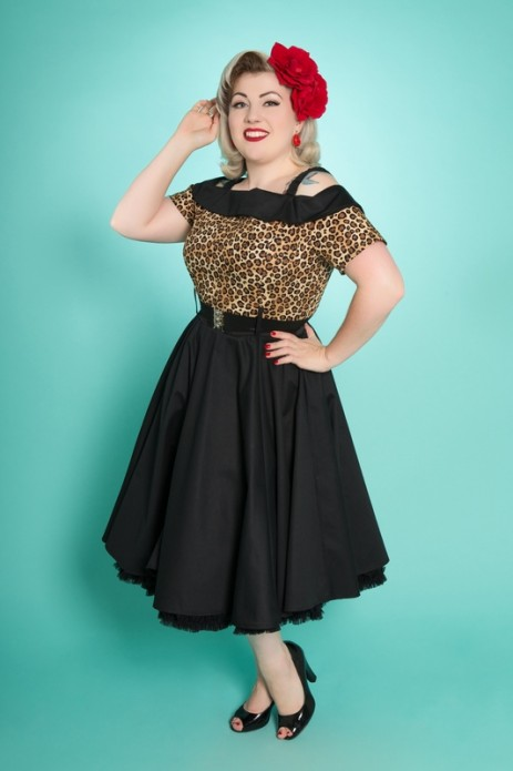 Carrie Swing Dress - Leopard
