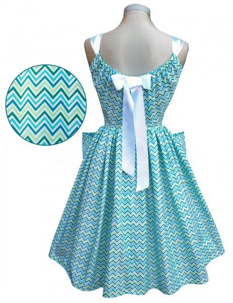 Summer Belle Dress - Chevrons