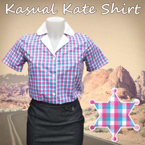 Kasual Kate Shirt - Gingham