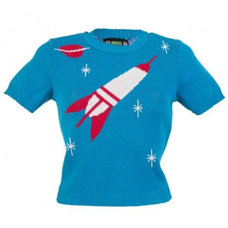 Bobbie Jumper - Space Age - Blue