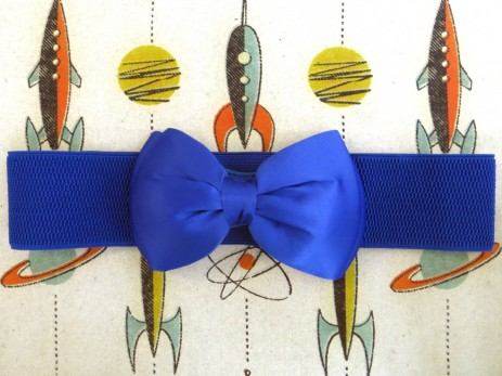 Bow Belt - Blue