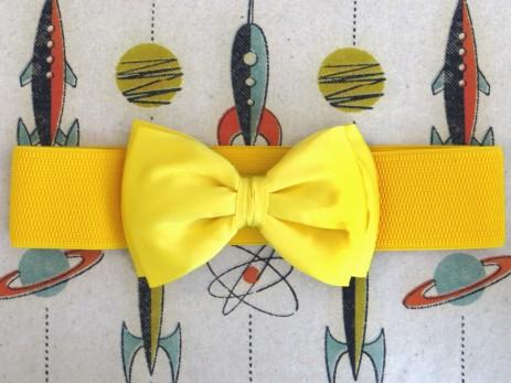 Bow Belt - Yellow