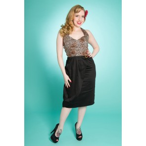Allure Dress - Leopard