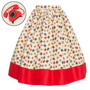 Barbara Ann Skirt - Retro Telephones