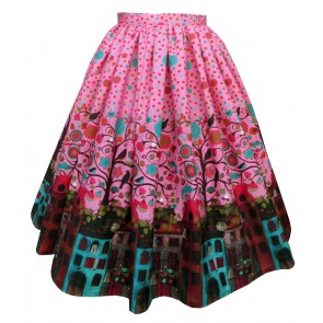 Boardwalk Skirt - Amsterdam: Flora & Fauna