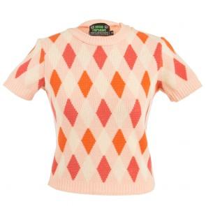 Bobbie Jumper - Harlequin - Peach