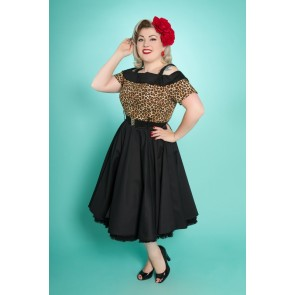Carrie Swing Dress - Leopard