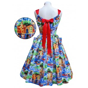 Summer Belle Dress - Scenic Portofino