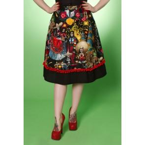 Fiesta Skirt - Day of the Dead