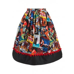 Fiesta Skirt: V2 - Postcards From Ghoultown