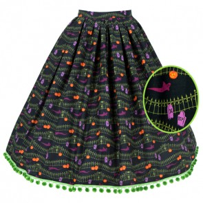 Boardwalk Skirt - Haunted Hill