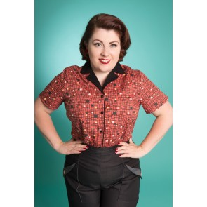Kasual Kate Shirt - Mid Century