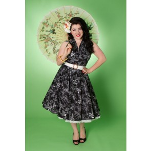 Lola Swing Dress - Black