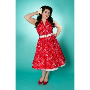 Lola Swing Dress - Red