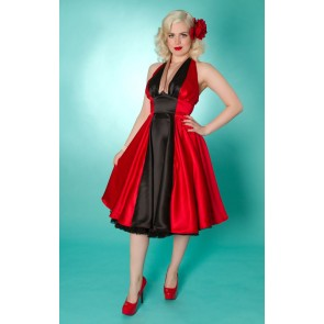 Minx Dress - Red/Black