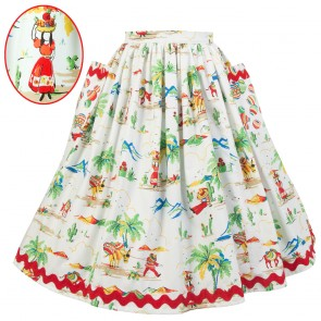 Neat-O Skirt - Memories of Mexico