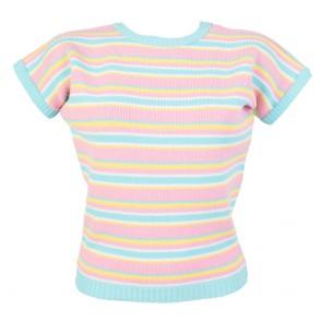 Daphne Jumper - Stripes - Sherbet