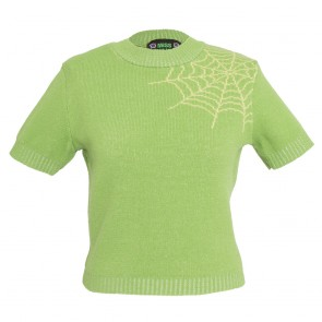 Bobbie Jumper - Spider Web - Kiwi