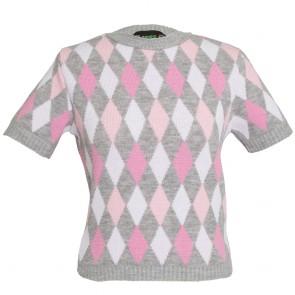 Bobbie Jumper - Harlequin - Rose Blush