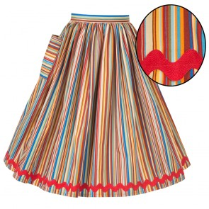 Neat-O Skirt - Mexicana Stripe