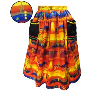Promenade Skirt - Twilight Desert