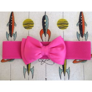 Bow Belt - Cerise