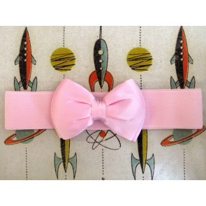 Bow Belt - Baby Pink