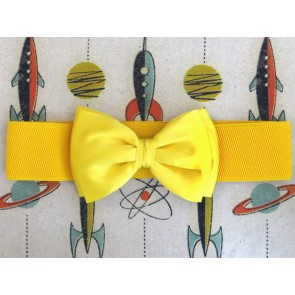 Bow Belt - Yellow