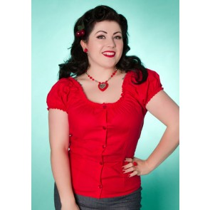 Rose Lee Top - Red