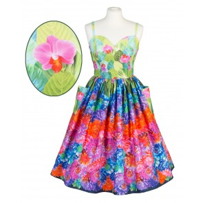 Suzie Sweetheart Dress - Bouquet