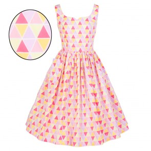 Sweet Pea Dress - Sherbet Diamonds