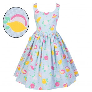 Sweet Pea Dress - Summer Fruits