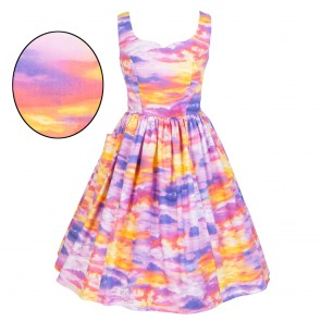 Sweet Pea Dress - Dreamy Sunset