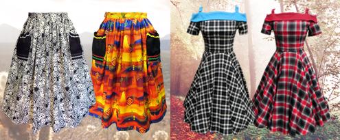 Carrie Swing Dress