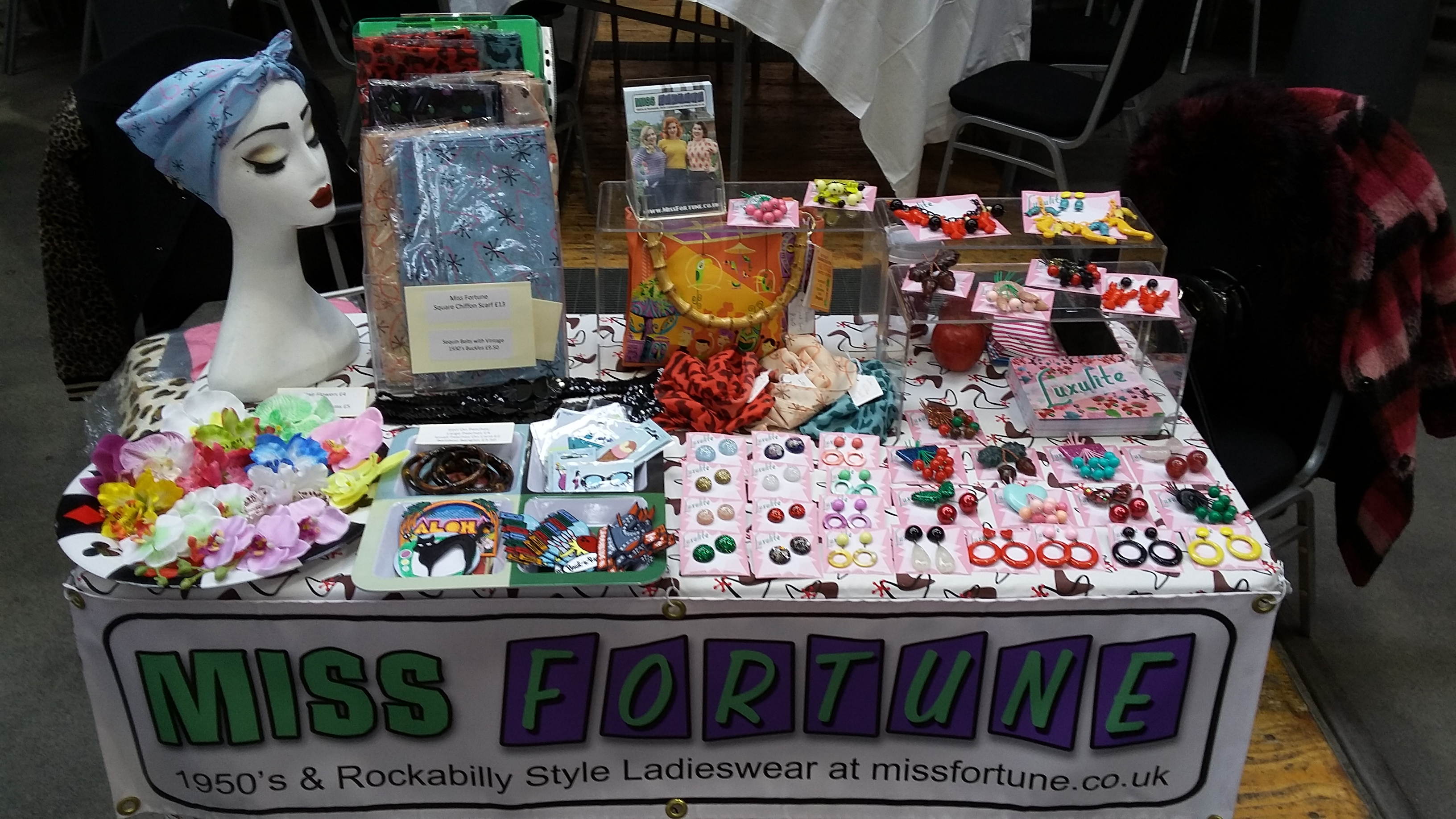 Miss Fortune stall at Lou Lou's Vintage