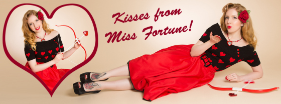 Kisses from Miss Fortune