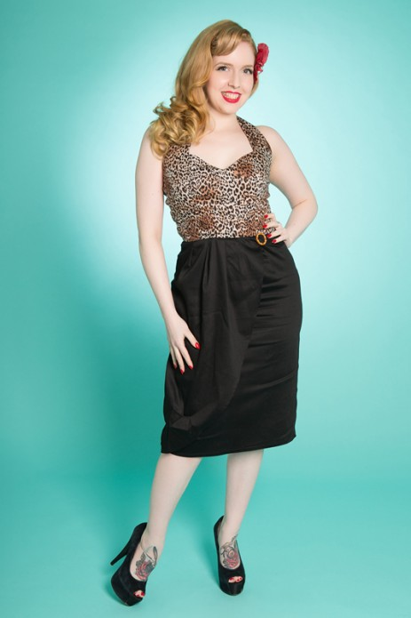 Allure Dress - Leopard