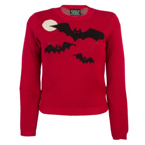 Bobbie Jumper - Bats - Long Sleeve - Blood Moon