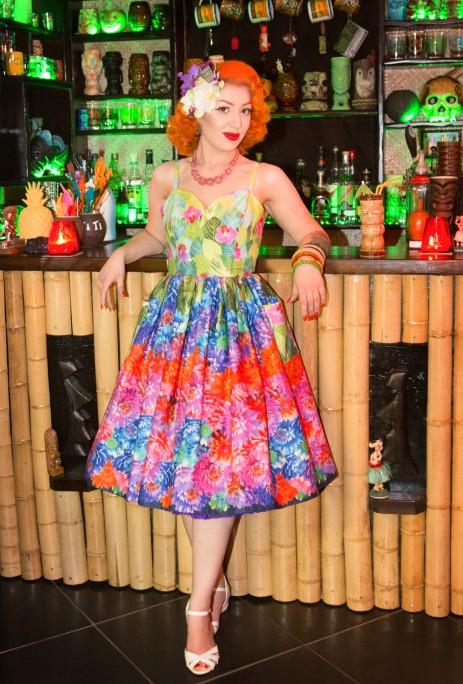 Suzie Sweetheart Dress - Bouquet