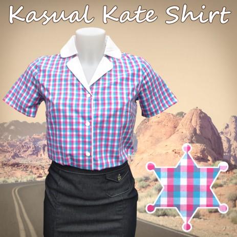 Kasual Kate Shirt - Gingham