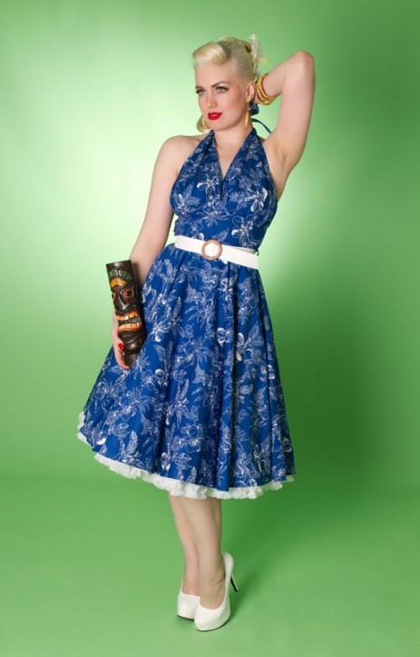 Lola Swing Dress - Blue