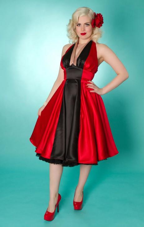 Minx Dress - Red/Black