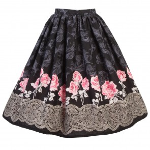 Boardwalk Skirt - Lace Rose