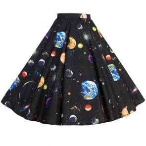Circle Skirt - Galaxy