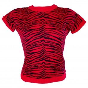 Daphne Jumper - Tigress - Lipstick Red