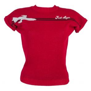 Daphne Jumper - Jet Age - Red