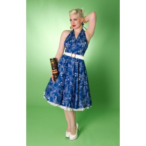 Lola Swing Dress - Blue